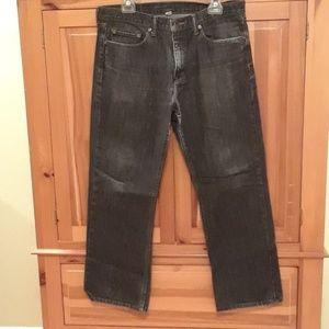 Banana republic straight jeans sz 33x30
